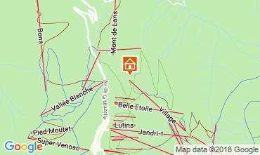 Mapa Les 2 Alpes Apartamentos 116800