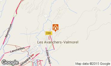 Mapa Valmorel Apartamentos 76576