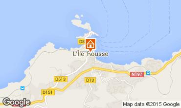 Mapa Location Ile Rousse Apartamentos 83162