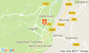Mapa Saint Lary Soulan Apartamentos 112136