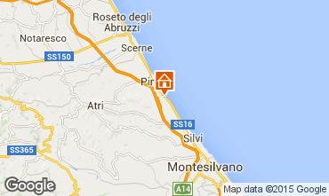 Mapa Pineto Apartamentos 75650