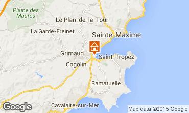 Mapa Saint Tropez Apartamentos 5689