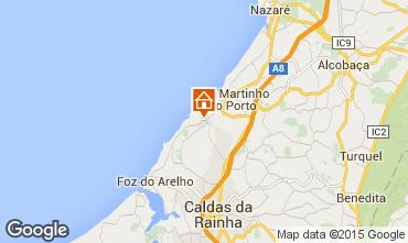 Mapa S�o Martinho do Porto Casa 78194