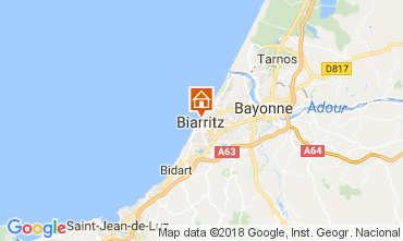 Mapa Biarritz Apartamentos 112838