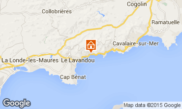 Mapa Le Lavandou Apartamentos 53838