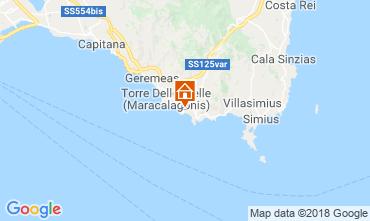 Mapa Villasimius Apartamentos 116622