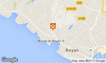 Mapa Royan Apartamentos 92504
