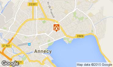 Mapa Annecy Apartamentos 95281