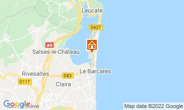 Mapa Le Barcares Casa 74693