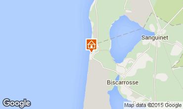 Mapa Biscarrosse Estúdio 6547