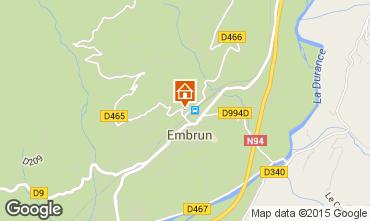 Mapa Embrun Apartamentos 55962