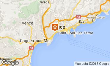 Mapa Nice Apartamentos 101412