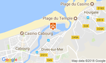 Mapa Dives sur mer Apartamentos 33470