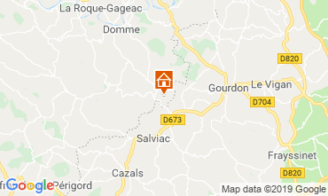 Mapa Sarlat Casa 95956