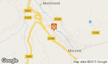 Mapa Morzine Apartamentos 39906