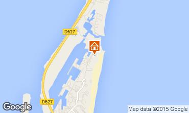 Mapa Port Leucate Apartamentos 68615