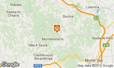 Mapa Siena Casa de turismo rural/Casa de campo 84894