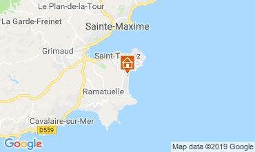 Mapa Saint Tropez Mobil Home 113903