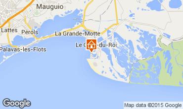 Mapa Le Grau du Roi Apartamentos 86917