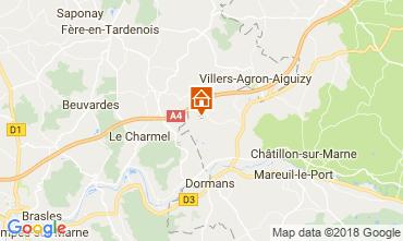 Mapa Reims Casa 115024