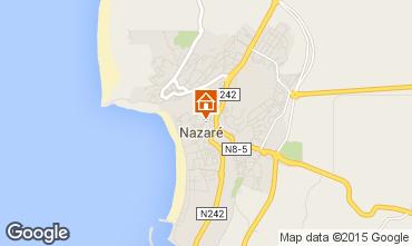Mapa Nazaré Apartamentos 96735