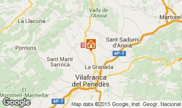 Mapa Barcelona Casa de turismo rural/Casa de campo 17009