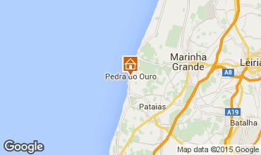 Mapa S�o Pedro de Moel Apartamentos 58059