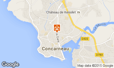 Mapa Concarneau Estúdio 84656