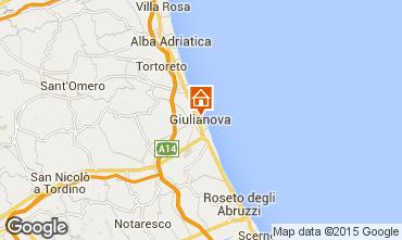 Mapa Giulianova Apartamentos 96791
