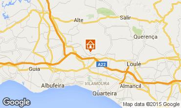 Mapa Albufeira Casa 59358