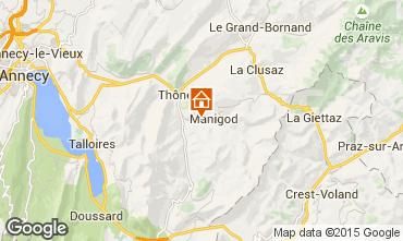 Mapa La Clusaz Chalé 60510