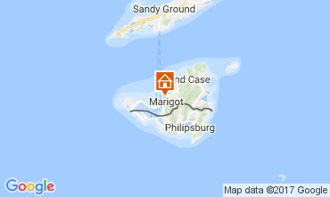 Mapa Marigot Apartamentos 108399