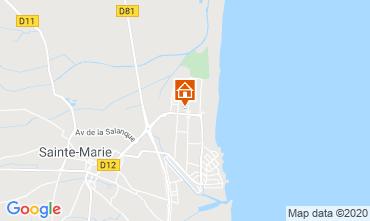 Mapa Sainte Marie la Mer Casa 51132