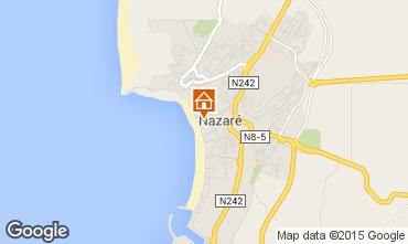 Mapa Nazaré Apartamentos 57591