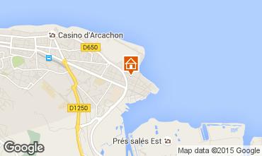 Mapa Arcachon Estúdio 73087