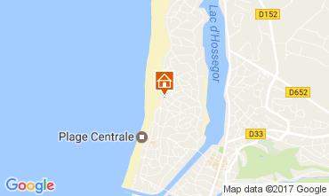 Mapa Hossegor Vivenda 31957