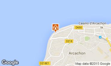 Mapa Arcachon Apartamentos 83194