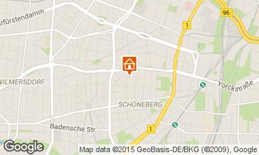 Mapa Berlim Apartamentos 48854