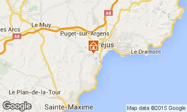 Mapa Saint Aygulf Mobil Home 58302