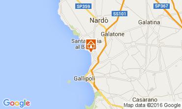 Mapa Gallipoli Apartamentos 105367