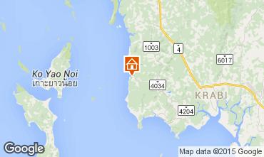 Mapa Krabi Casa de turismo rural/Casa de campo 32124