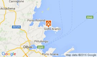 Mapa Golfo Aranci Apartamentos 66270