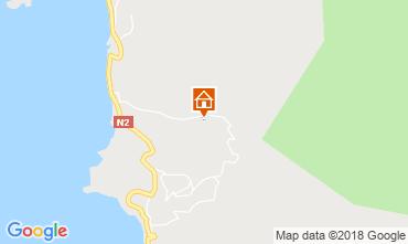 Mapa Bouillante Bungalow 8061