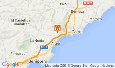 Mapa Altea Casa 53147