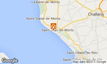 Mapa Saint Jean de Monts Estúdio 35534