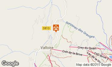 Mapa Valloire Apartamentos 97653