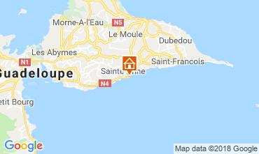 Mapa Sainte Anne (Guadalupe) Apartamentos 69395