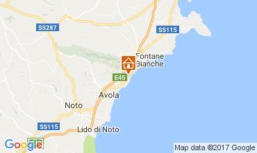 Mapa Avola Vivenda 109708