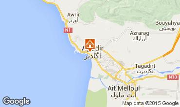 Mapa Agadir Apartamentos 61035