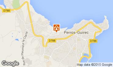 Mapa Perros-Guirec Apartamentos 7423